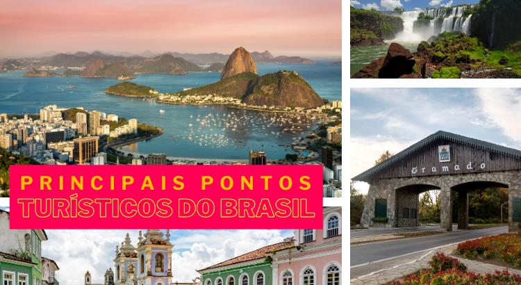 Principais pontos turísticos do Brasil