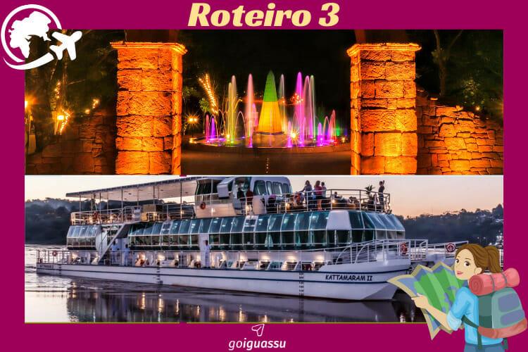 Um dos melhores passeios para seu roteiro de viagem para Foz do Iguaçu, o Marco das Três Fronteiras e o Kattamaram II.