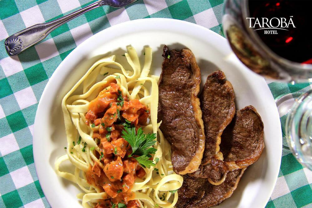 Restaurante italiano em Foz